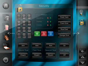 Интерфейс Xenon GUI системы iRidium
