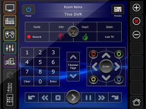 Интерфейс Euro GUI системы iRidium