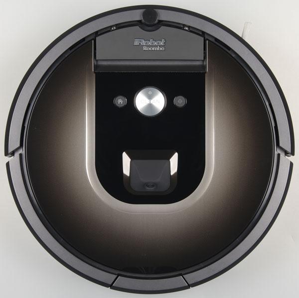 робот-пылесос iRobot Roomba 980, вид сверху