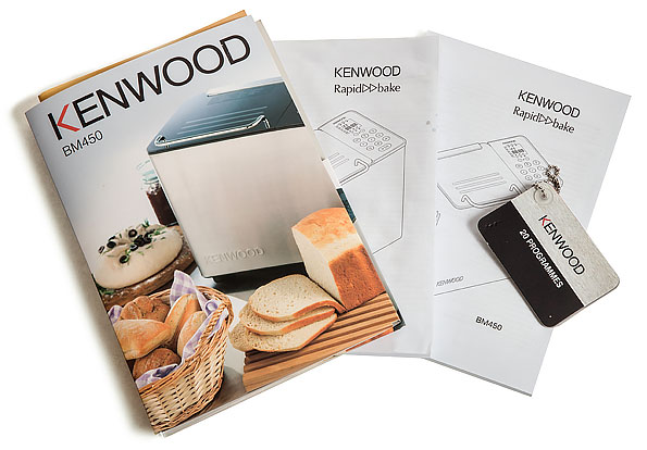 книга рецептов к хлебопечки кенвуд вм 210