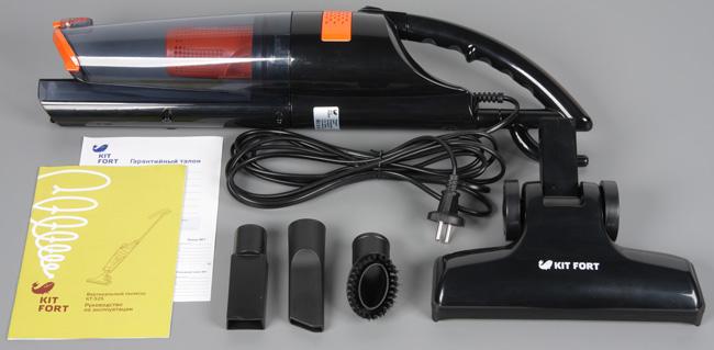 Пылесос Kitfort КТ-525-1, комплект поставки