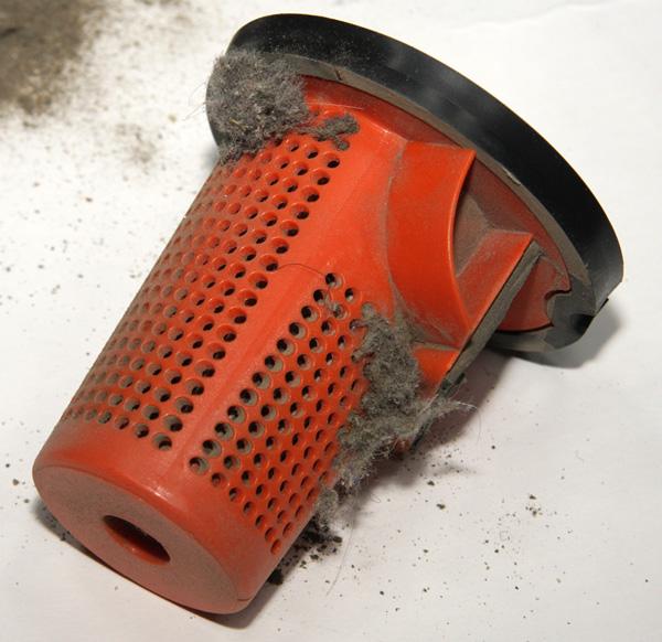 Пылесос Kitfort КТ-525-1, пылесборник