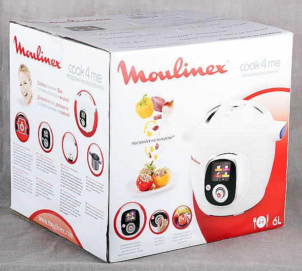 мультиварка Moulinex Cook4Me CE7011