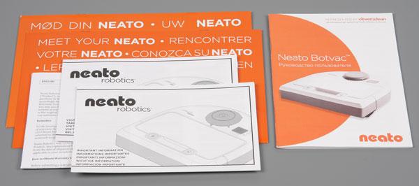 Neato Botvac D85, руководство