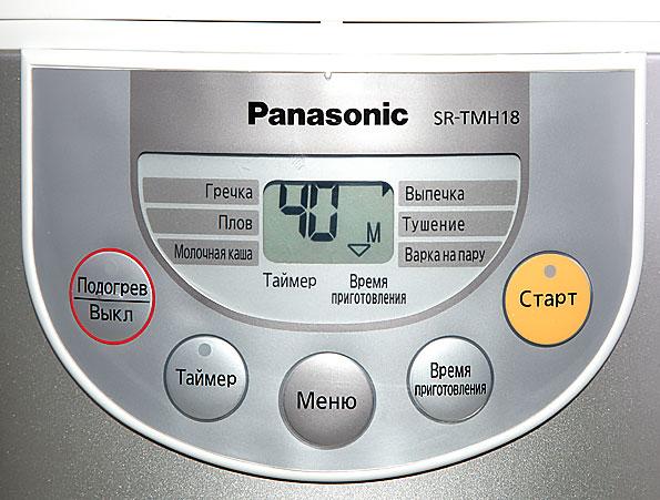 мультиварка Panasonic Sr Tmh18