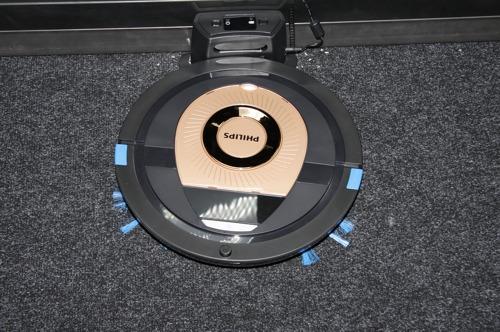 Philips SmartPro Compact, тест уборки