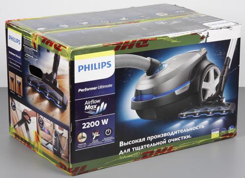 Пылесос Philips Performer Ultimate (FC8924/01). Коробка.