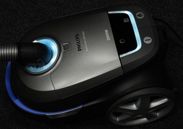 Пылесос Philips Performer Ultimate (FC8924/01). Подсветка