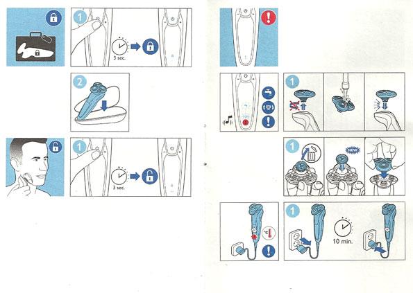инструкция к электробритве Philips - фото 6