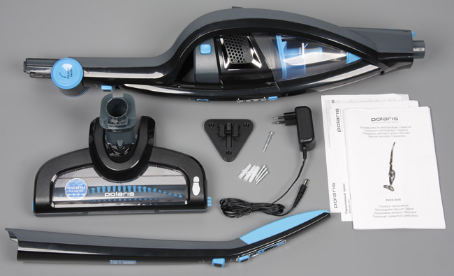 Пылесос Polaris PVCS 0418, комплект поставки