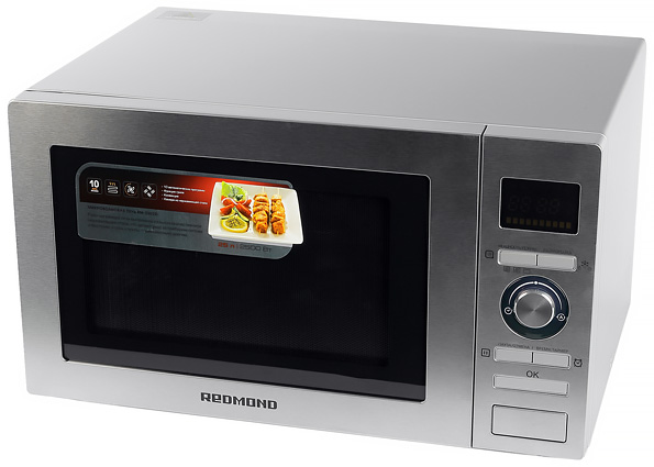 Микроволновая печь с грилем и конвекцией Redmond RM-2502D