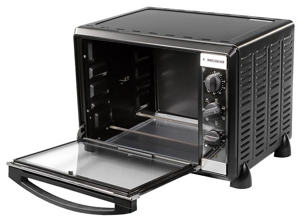 Компактная электрическая духовка Rommelsbacher BG 1550 с грилем и конвекцией