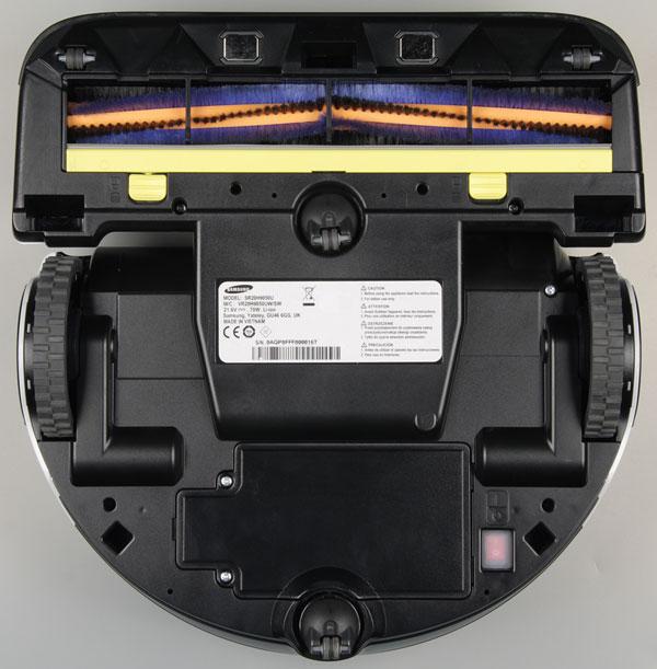 Samsung Powerbot SR20H9050U, вид снизу