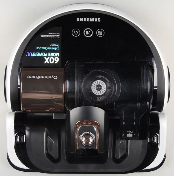 Samsung Powerbot SR20H9050U, вид сверху
