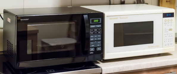 Микроволновая печь с грилем Sharp R-7773R