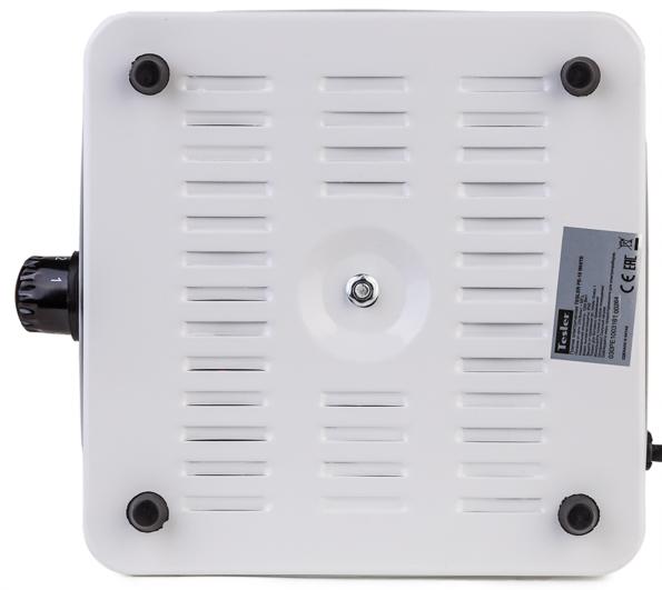 Электроплитка Supra HS-101 1000Вт белый