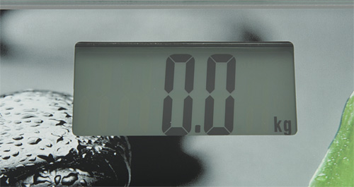 Напольные весы Unit UBS-2056. Дисплей