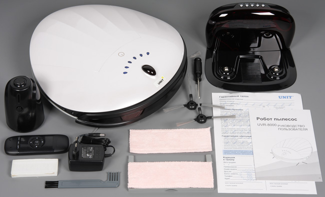 Unit UVR-8000, набор аксессуаров