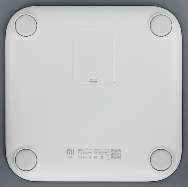 Дизайн весов Xiaomi Mi Smart Scale