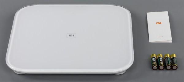 Комплектация весов Xiaomi Mi Smart Scale