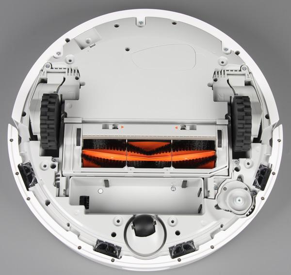 Xiaomi Mi Robot Vacuum, вид снизу