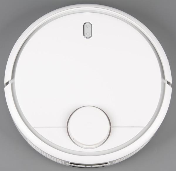 Xiaomi Mi Robot Vacuum, вид сверху