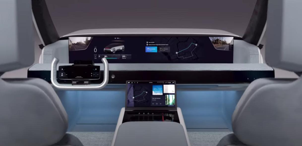 Samsung's true car of the future