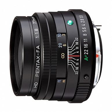 В ближайшее время ожидается анонс объектива HD Pentax-FA 77mm f/1.8 Limited