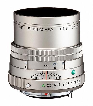 Представлены объективы HD Pentax-FA 31mmF1.8 Limited, HD Pentax-FA 43mmF1.9 Limited и HD Pentax-FA 77mmF1.8 Limited