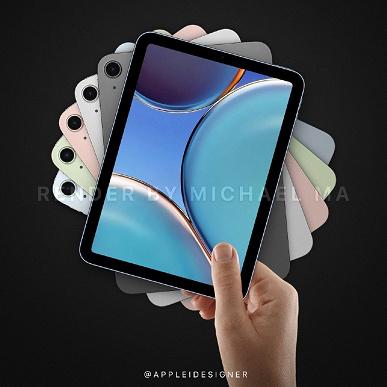 Появилась качественные изображения Apple iPad mini 6