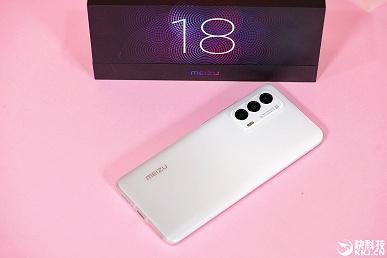Meizu уличили во лжи: в реальности фронтальная камера Meizu 18 оказалась больше, чем на рекламных изображениях
