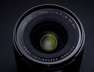 Появились изображения и основные спецификации объектива Fujifilm Fujinon XF 18mm f/1.4 R LM WR