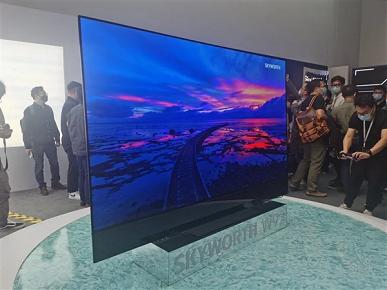88 дюймов, 120 Гц, MEMC, Dolby Vision, Acoustic Glass Sound и вращающаяся камера. Представлен OLED-телевизор Skyworth W92