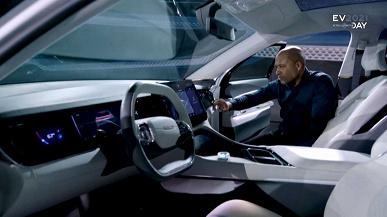 Представлен электромобиль Chrysler с запасом хода 800 км и несколькими экранами