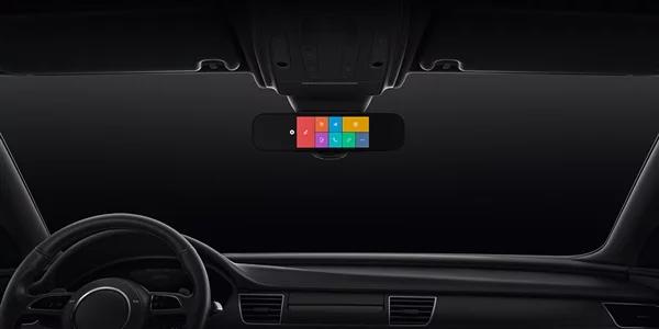 Компания Xiaomi выпустила новое умное зеркало заднего вида для автомобилей, которое получило название Mi Smart RearView Mirror.