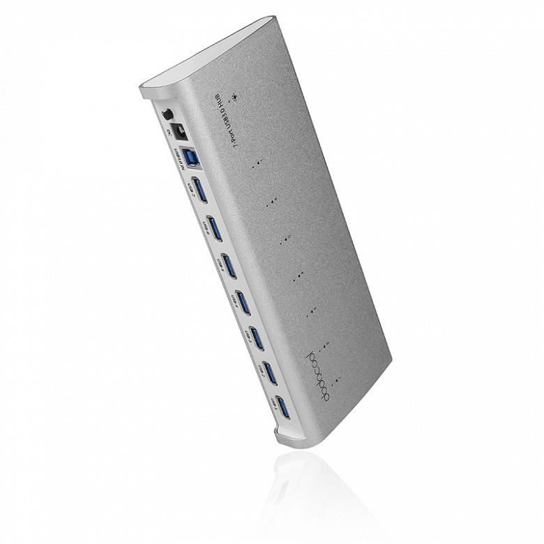 Dodocool выпустила хаб с семью портами USB-А
