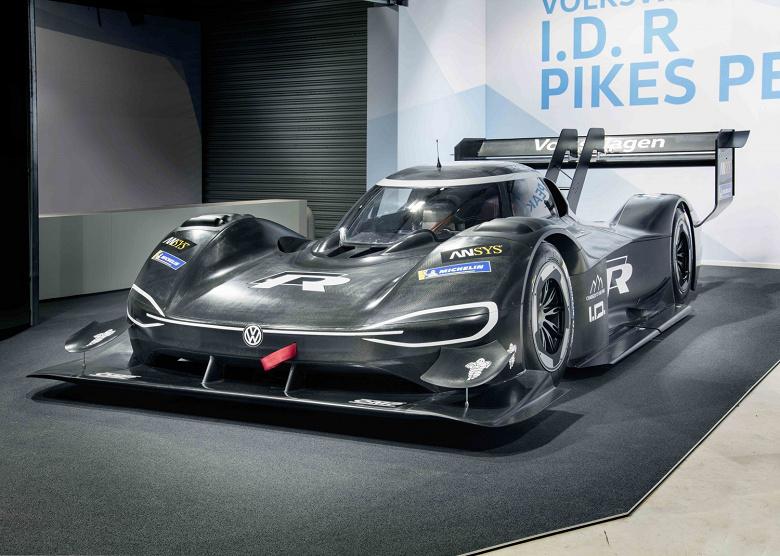 Представлен гоночный электромобиль Volkswagen I.D. R Pikes Peak