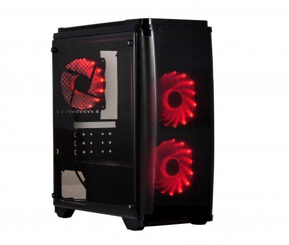Компьютерный корпус X2 Pirate 1416 рассчитан на платы Micro-ATX