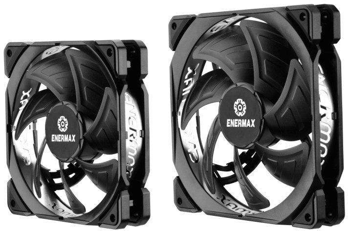 Серия вентиляторов Enermax Tbsilence Adv включает модели типоразмера 120 и 140 мм