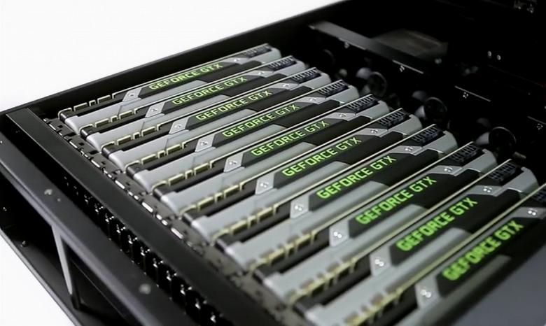 Рынок GPU в прошлом квартале вырос на 3,4% в годовом выражении
