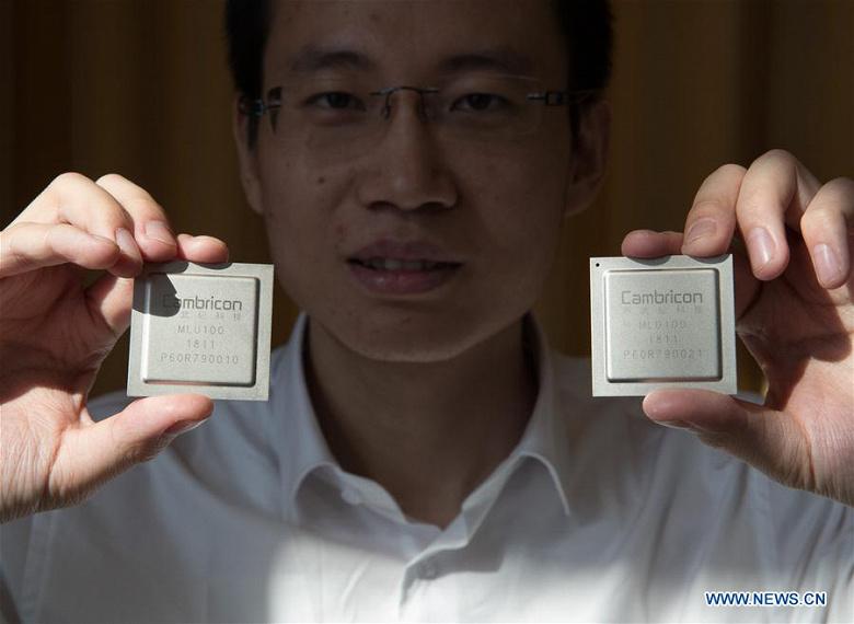 Представлен первый китайский процессор для искусственного интеллекта