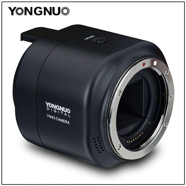 Камера Yongnuo YN43 объединяет датчик изображения формата Four Thirds, объективы Canon и смартфоны