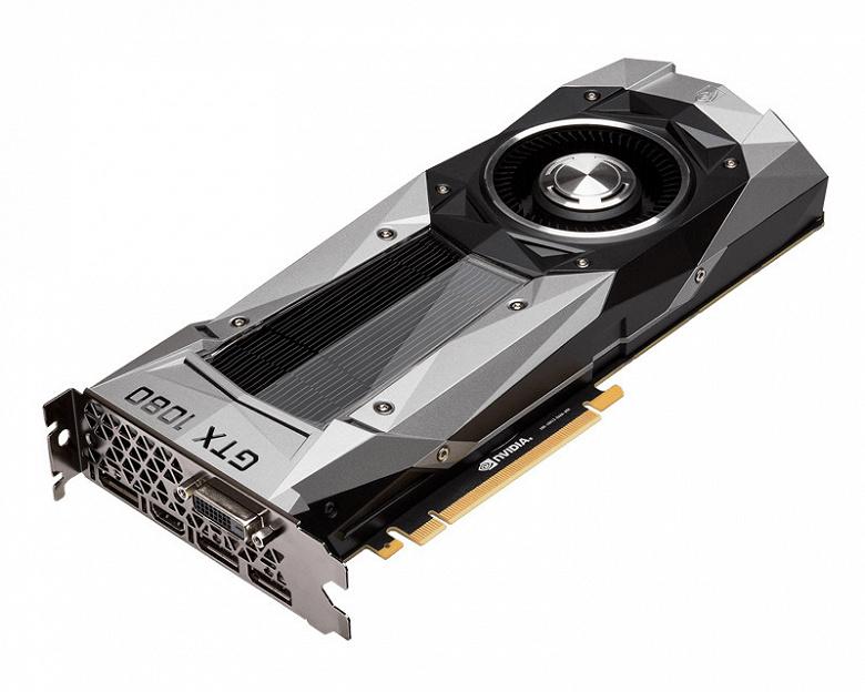 Выход преемника Nvidia GeForce GTX 1080 ожидается в конце июля