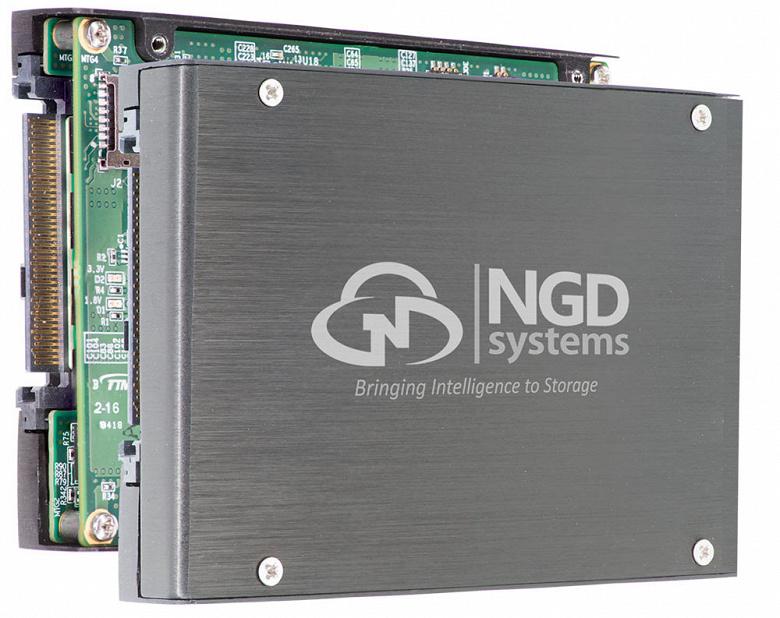 NGD Systems выпускает первый SSD объемом 16 ТБ, поддерживающий NVMe