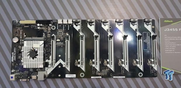 В майнерскую системную плату ASRock J3455 Pro BTC+ нет необходимости устанавливать процессор