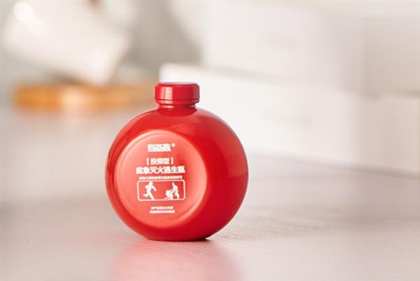 Бутылка-огнетушитель Xiaomi поможет справиться с пожаром и избежать ожогов