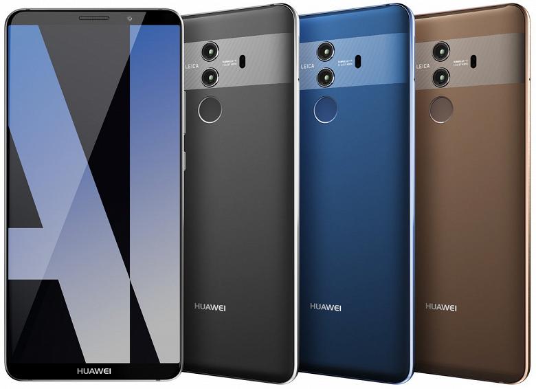 По размеру экрана Huawei Mate 20 Pro может превзойти Samsung Galaxy Note9 и новый iPhone Х