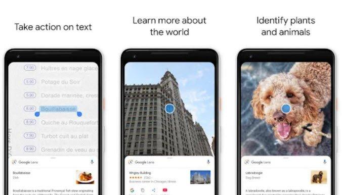 Приложение Google Lens становится доступно на всех смартфонах с Android Marshmallow