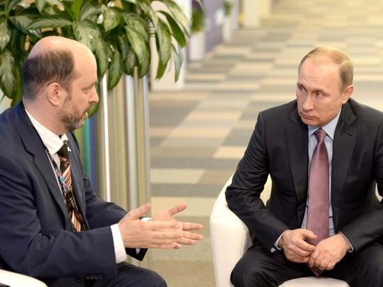 Владимир Путин уволил советника по интернету