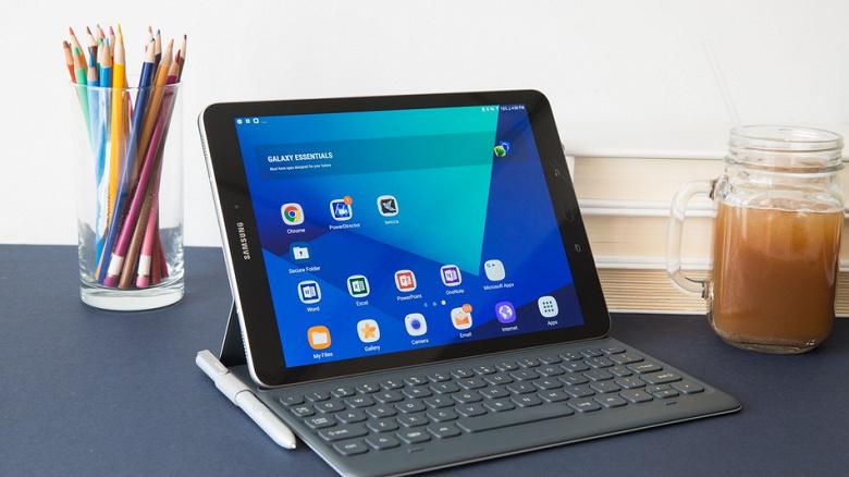 Samsung Galaxy Tab S4 может стать первым планшетом компании со сканером радужной оболочки глаза